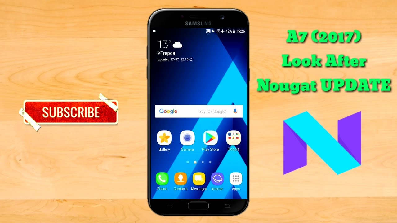 Samsung Galaxy A7 (2017) After Nougat UPDATE Review