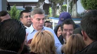 Emprende Tony Gali dignificación en Villa Frontera.