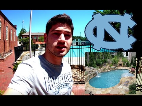 SWIMMING POOL AT UNC (UNIVERSITY OF NORTH CAROLINA) [VLOG #1]