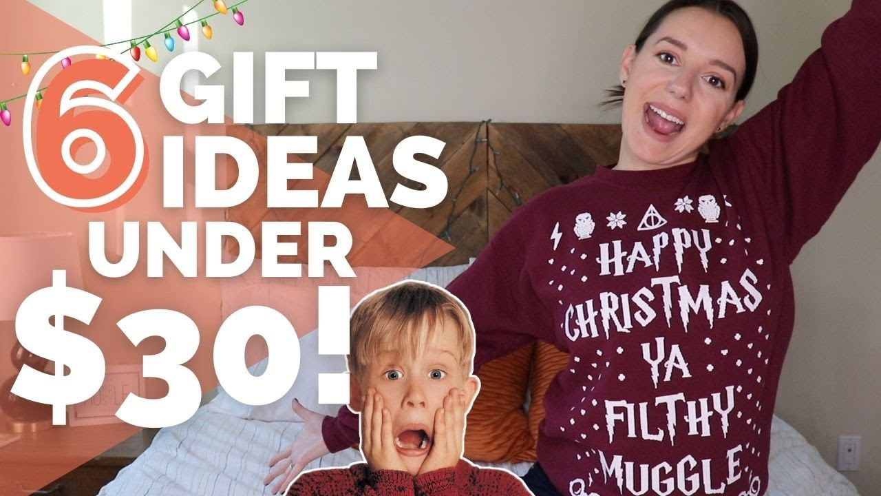 6 Christmas Gift Ideas Under $30 for the Entire Family!