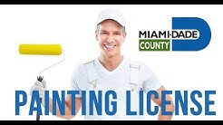 Painting Contractors License In Florida