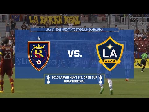 2015 Lamar Hunt U.S. Open Cup - Quarterfinal: Real Salt Lake vs. LA Galaxy