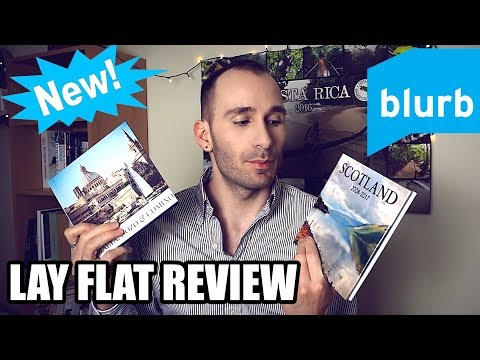 NEW! BLURB LAY FLAT PHOTO BOOK - REVIEW