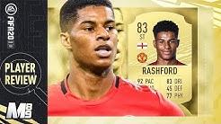 FIFA 20 RASHFORD REVIEW | 83 RASHFORD PLAYER REVIEW | FIFA 20 Ultimate Team