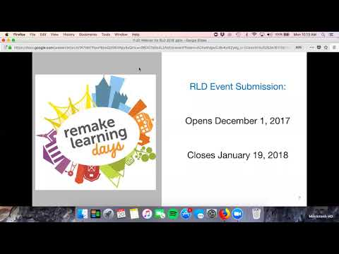 Remake Learning Days Webinar: How to Host a Remake Learning Days Event