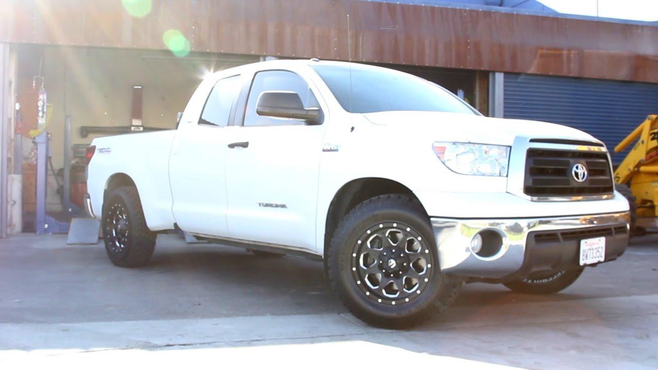 2013 Toyota Tundra Wheels >> Toyota Tundra FUEL Boost wheels. - YouTube