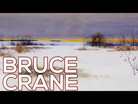 Bruce Crane: A collection of 88 paintings (HD)