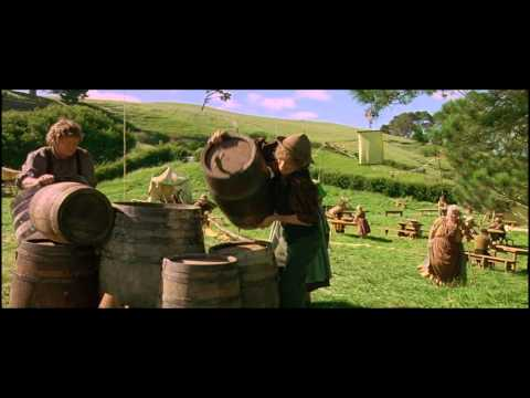 Concerning Hobbits (Howard Shore) - Music Video - Lord of the Rings