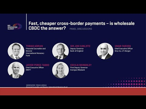 Fast, cheaper cross-border payments – is wholesale CBDC the answer?