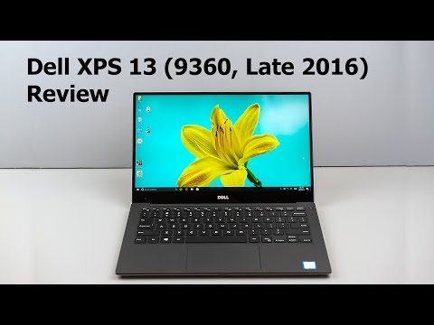 Dell XPS 13 (9360, Kaby Lake) Review - Still the Laptop to Beat?