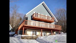 Particulier: vente maison clé en main Lac Beauport, #Quebec #Canada #immobilier #international