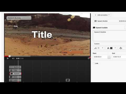 006 Learn to use annotations to ask viewers to subscribe and comment and interact