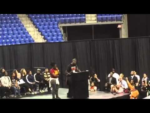 Tef Poe (Kareem Jackson) speaks to Ferguson October