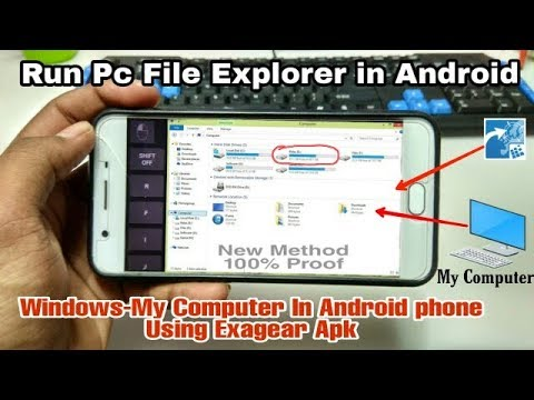 Run Pc File Explorer In Android Phone Using Exagear Strategies | Windows My Computer In Android