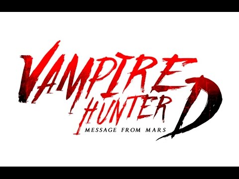 Vampire Hunter D: Message from Mars Comic Book campaign
