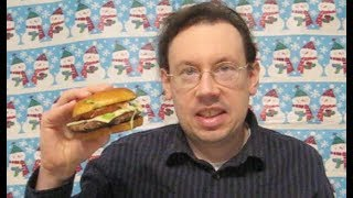 McDonald's Garlic White Cheddar Burger Review