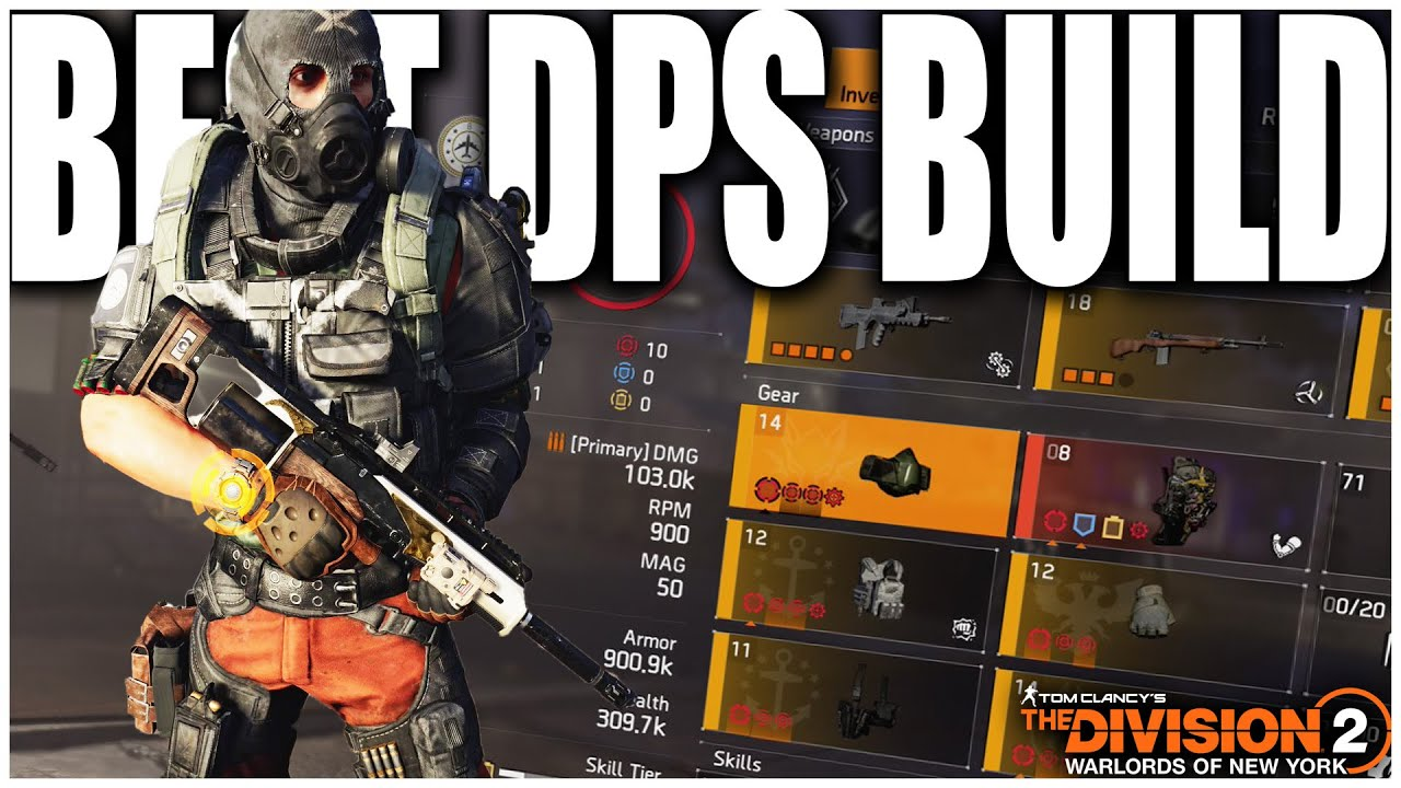This Division 2 Pve Build Melts Armor Insane Damage In Tu11 Best Dps Build Youtube