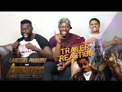 Avengers Infinity War Trailer - Gangta's Paradise Reaction
