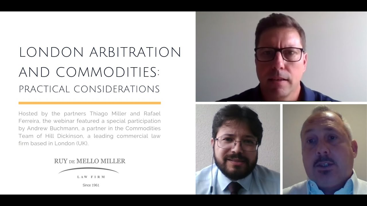 WEBINAR London arbitration and commodities: practical considerations