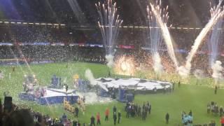 2017 UEFA Champions League Final Cardiff - Trophy presentation