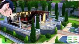 #72 The Sims 4 - Impreza! Spotkajmy się- Zwiedzam miasto!