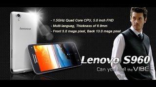 оригинальный Lenovo S960 Vibe с Aliexpress.com: Распаковка и обзор