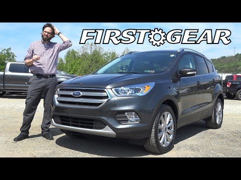 2017 Ford Escape Titanium SUV EcoBoost - First Gear - Review and Test Drive