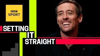 Peter Crouch chats Nachos, romantic poetry & nearly killing Dirk Kuyt | BBC Sport