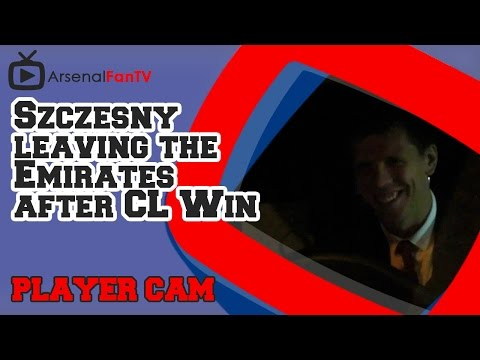 Wojciech Szczesny leaving the Emirates after CL Win