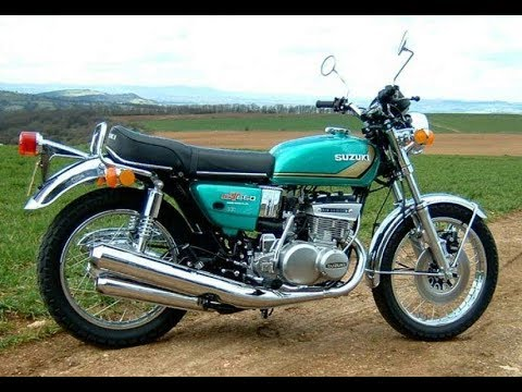 suzuki gt 550 exhaust sound and acceleration compilation youtube. Black Bedroom Furniture Sets. Home Design Ideas