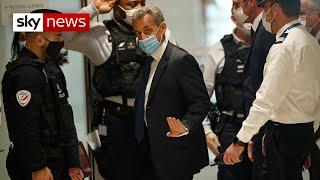 France's former President Nicolas Sarkozy sentenced to prison