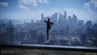 SPIDER-MAN PS4: NEW FREE-ROAM GAMEPLAY.please susbcribe my channel.