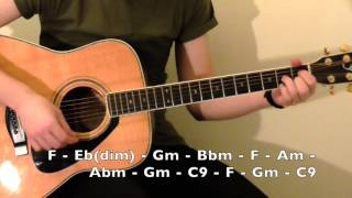 How To Play Till There Was You Rhythm Guitar Lesson - The Beatles