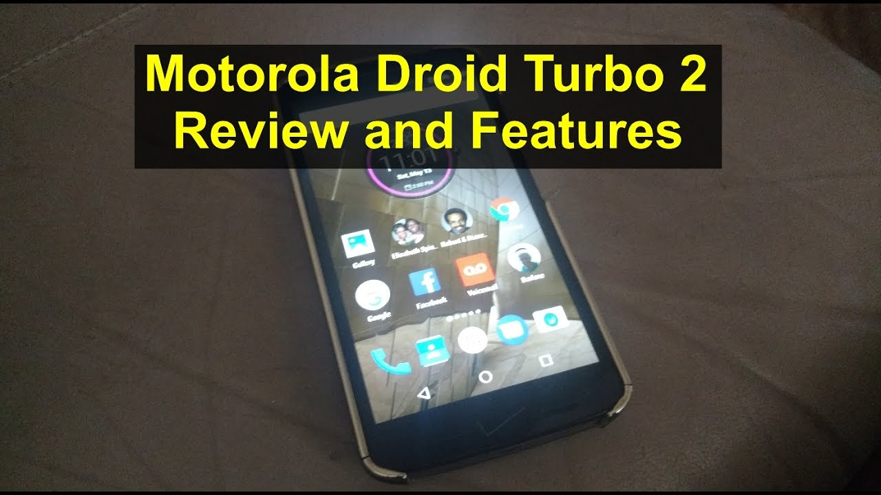 Motorola Droid Turbo 2 review and features to use  - VOTD