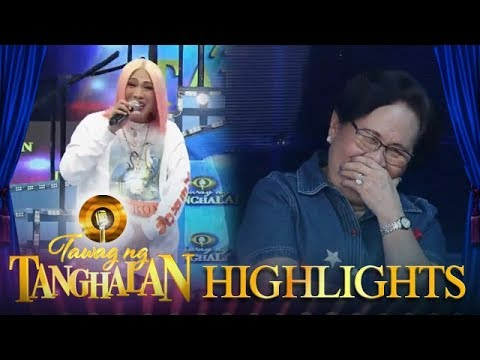 Tawag ng Tanghalan: Mommy Rosario laughs at Vice's stories