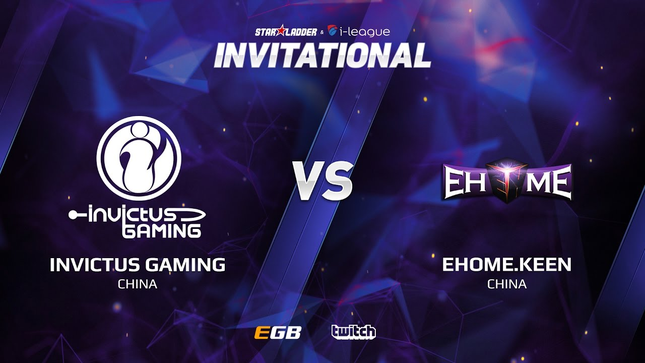 Invictus Gaming vs EHOME.Keen, Game 1, SL i-League Invitational S2, CN Qualifier