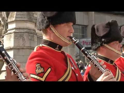 Флэшмоб оркестра Королевской Британской армии! Англия, Бирмингем. 2013г.
