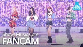 Download [예능연구소 4K] 블랙핑크 직캠 'Lovesick Girls' (BLACKPINK FanCam) @Show!MusicCo MBC 201010 방송