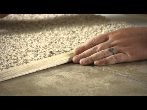 How to Go From Carpet to Tile : Carpet Installation & Repairs