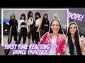 Dance Practice ITZY, EVERGLOW, DREAMCATCHER REACTION!!!