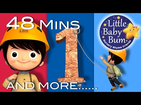 Number 1 Song | Plus Lots More Nursery Rhymes | 48 Minutes C
