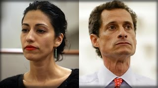 DISGRACED ANTHONY WEINER BEGGING HUMA ABEDIN FOR THE ONE THING THAT MAY SAVE HIM