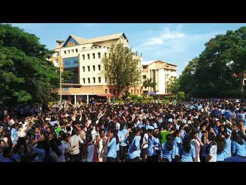 St.Aloysius college, Mangalore, Musical evening 2018 with Dj Royan