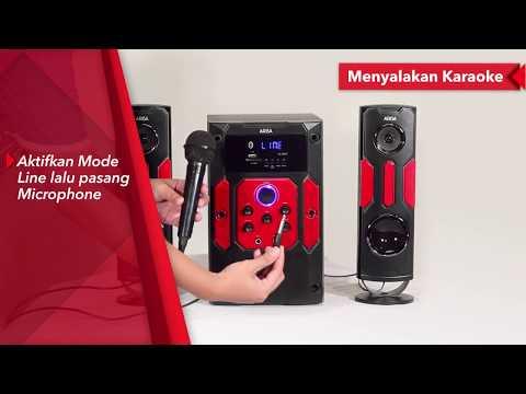 ARISA Tutorial - Speaker Karaoke ARISA SA-6062