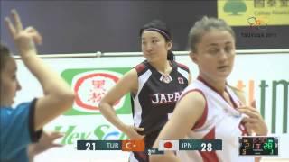 2015年桃園世界聽障籃球錦標賽 2015 World Deaf Basketball Championships WOMEN - 20150707 TUR vs. JPN