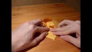 Origami star by František Grebeníček