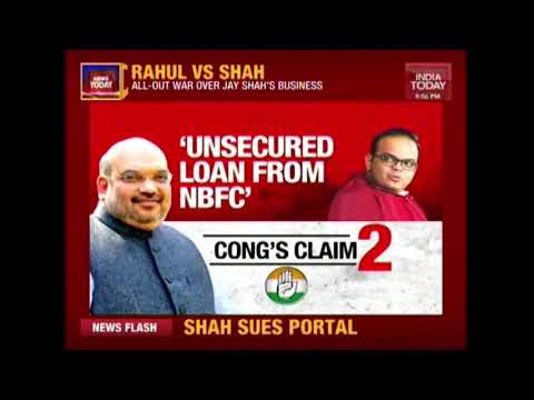 News Today: Jay Amit Shah Files Rs 100 Crore Defamation Suit