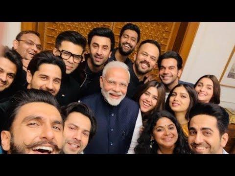 Ranbir Kapoor, Alia Bhatt & Ranveer Singh, Ayushmann Khurrana and other celebs meet PM Narendra Modi Mp3