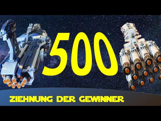Ziehung Gewinner 500 Abonnenten Spezial