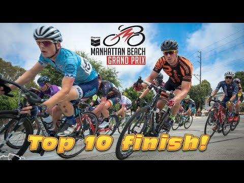 $8000 prize racing 2017 MANHATTAN BEACH GRAND PRIX! - #cycling LA
